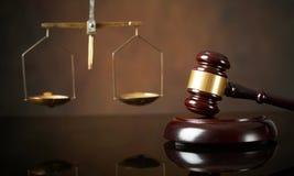 Conceito da lei e da justiça Fotografia de Stock