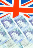 Conceito da libra britânica Imagens de Stock Royalty Free