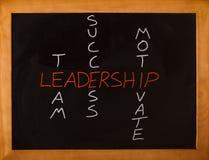 Conceito da liderança Fotos de Stock