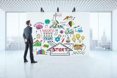 Conceito da liderança Fotografia de Stock Royalty Free