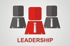 Conceito da liderança Conceito dos trabalhos de equipa Imagens de Stock