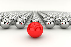 Conceito da liderança em 3d Imagens de Stock Royalty Free
