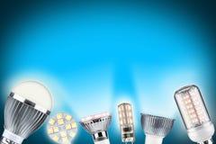 Conceito da luz do diodo emissor de luz Imagens de Stock