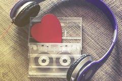 Conceito da música do amor Foto de Stock Royalty Free