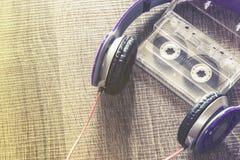 Conceito da música do amor Foto de Stock