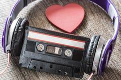 Conceito da música do amor Imagens de Stock Royalty Free