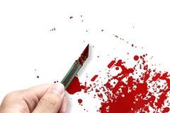 Conceito da matança e do assassinato fotos de stock royalty free