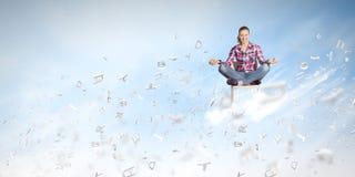 Conceito da meditação Imagem de Stock Royalty Free