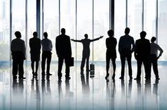 Conceito da missão da visão do planeamento da liderança do objetivo da aspiração Foto de Stock