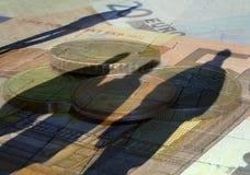 Conceito da moeda Imagens de Stock Royalty Free