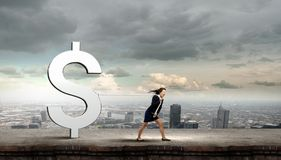 Conceito da moeda Imagem de Stock