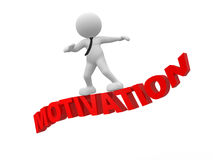 Conceito da motivação Fotos de Stock