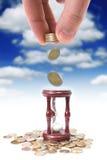 Conceito da operação bancária Fotografia de Stock