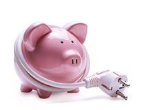 Conceito da operação bancária em linha e das economias fotos de stock royalty free