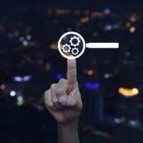 Conceito da optimização do Search Engine Imagens de Stock
