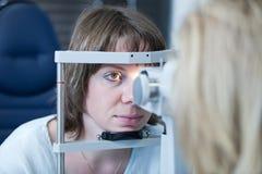 Conceito da optometria imagens de stock