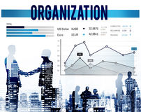 Conceito da organização de negócios da estratégia do planeamento de mercado Fotos de Stock Royalty Free