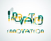 Conceito da palavra da inovação Imagens de Stock