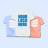Conceito da personalização da roupa Foto de Stock