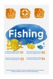 Conceito da pesca Fotos de Stock