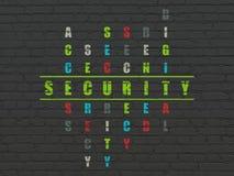 Conceito da privacidade: segurança da palavra na resolução ilustração stock