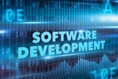 Conceito da programação de software Imagem de Stock