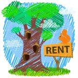 Conceito da propriedade ou dos bens imobiliários Foto de Stock Royalty Free