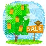 Conceito da propriedade ou dos bens imobiliários Fotos de Stock