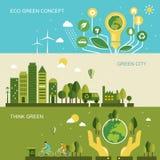 Conceito da proteção ambiental Foto de Stock Royalty Free