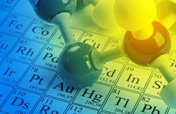 Conceito da química imagem de stock