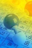 Conceito da química fotos de stock royalty free