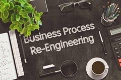 Conceito da Re-engenharia do processo de negócios 3d rendem Imagem de Stock Royalty Free