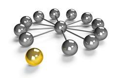 Conceito da rede ilustração do vetor