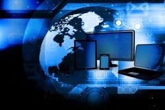 Conceito da rede informática Foto de Stock