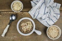 Conceito da refeição de cereais Fotografia de Stock Royalty Free