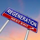 Conceito da regeneração. Fotos de Stock Royalty Free