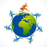 Conceito da relação de negócio global Fotos de Stock Royalty Free