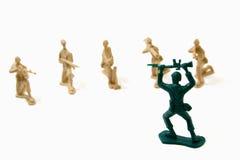 Conceito da rendição - homens do exército Imagens de Stock