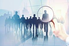 Conceito da reunião e da pesquisa imagens de stock royalty free