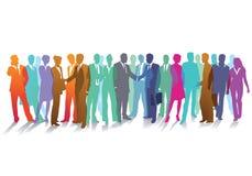 Conceito da reunião ilustrado Fotografia de Stock