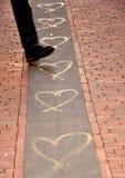 Conceito da rua do amor Imagens de Stock Royalty Free