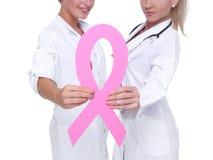 Conceito da saúde da conscientização do câncer da mama Imagens de Stock Royalty Free