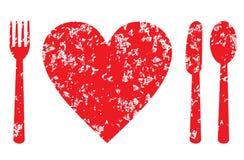 Conceito da saúde do coração ilustração royalty free