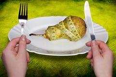 Conceito da saúde e da dieta imagens de stock royalty free