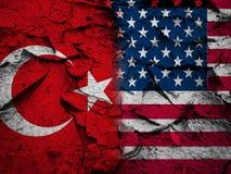 Conceito da sanção ou do conflito, Foto de Stock