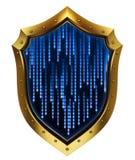 Conceito da segurança 3d do Internet Imagem de Stock Royalty Free