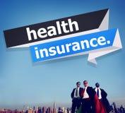 Conceito da segurança da avaliação de risco da proteção do seguro de saúde Imagem de Stock Royalty Free