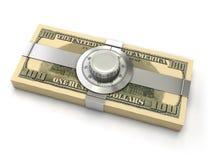 Conceito da segurança da finança ilustração royalty free