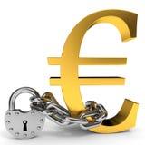 Conceito da segurança da finança Foto de Stock