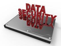 Conceito da segurança de dados de Digitas ilustração royalty free